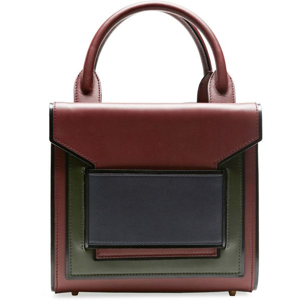 98364abd675 Pierre Hardy Multi Burgundy Calf Tote ( 1,995) ❤ liked on Polyvore  featuring bags,