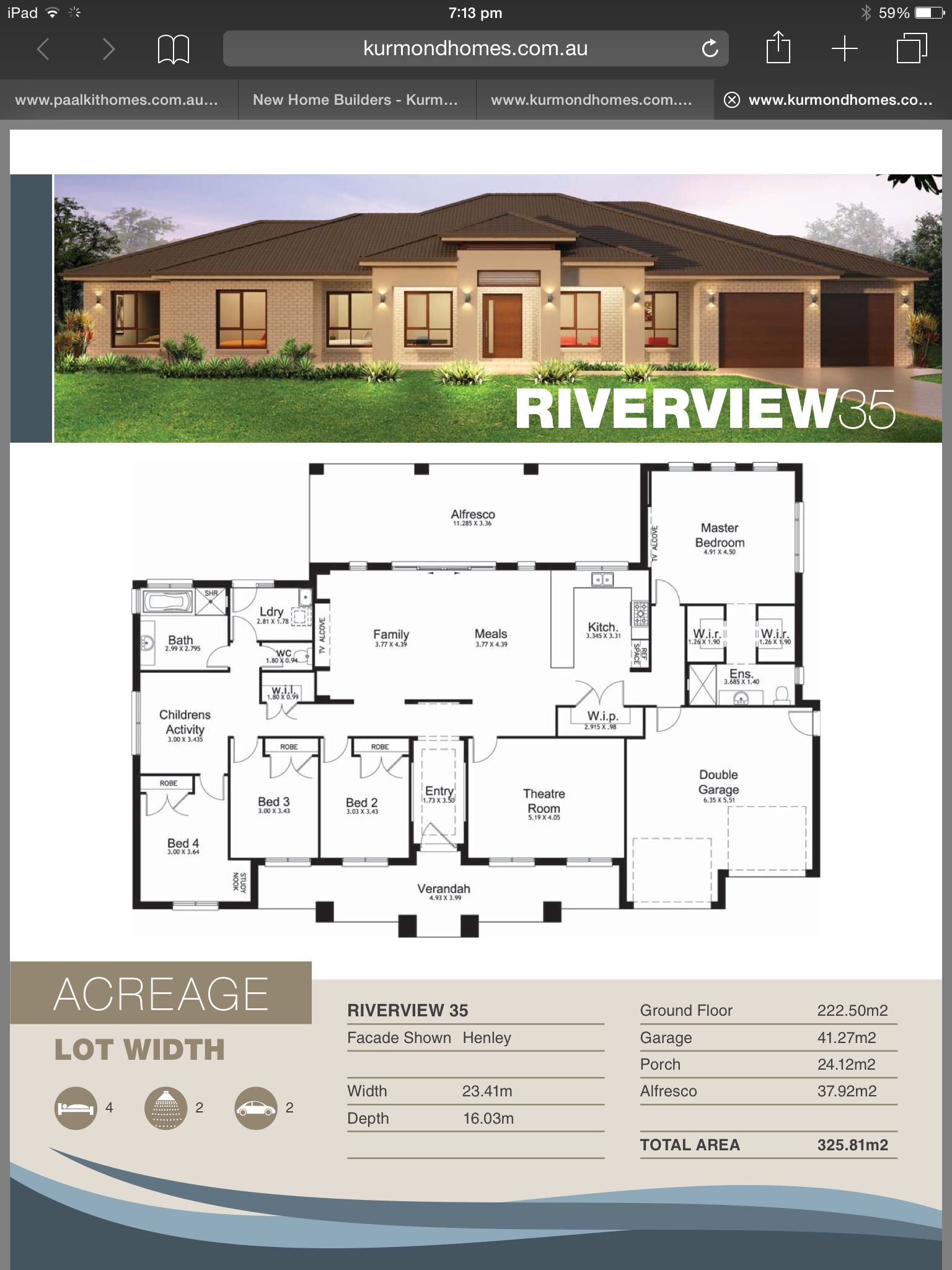 Kurmond Homes Riverview 35 House In 2018 Pinterest House