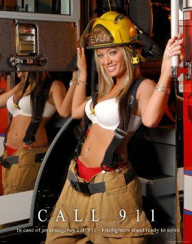 Female Firefighter Calendar Pictures Google Search Female