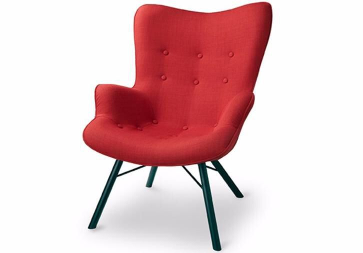 Design Fauteuil Rood.Jazz Fauteuil Rood Fauteuil Rood Fauteuil Woonkamer Rood