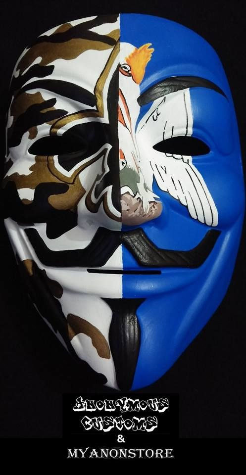 Custom Anonymous Mask From Www Myanonstore Com Guy Fawkes Mask
