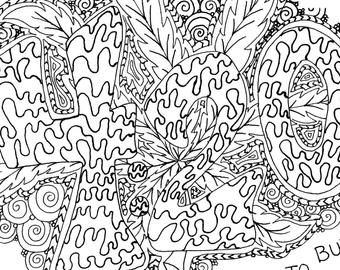 High Sunshine - Adult Coloring Page by The Artful Maker ...
