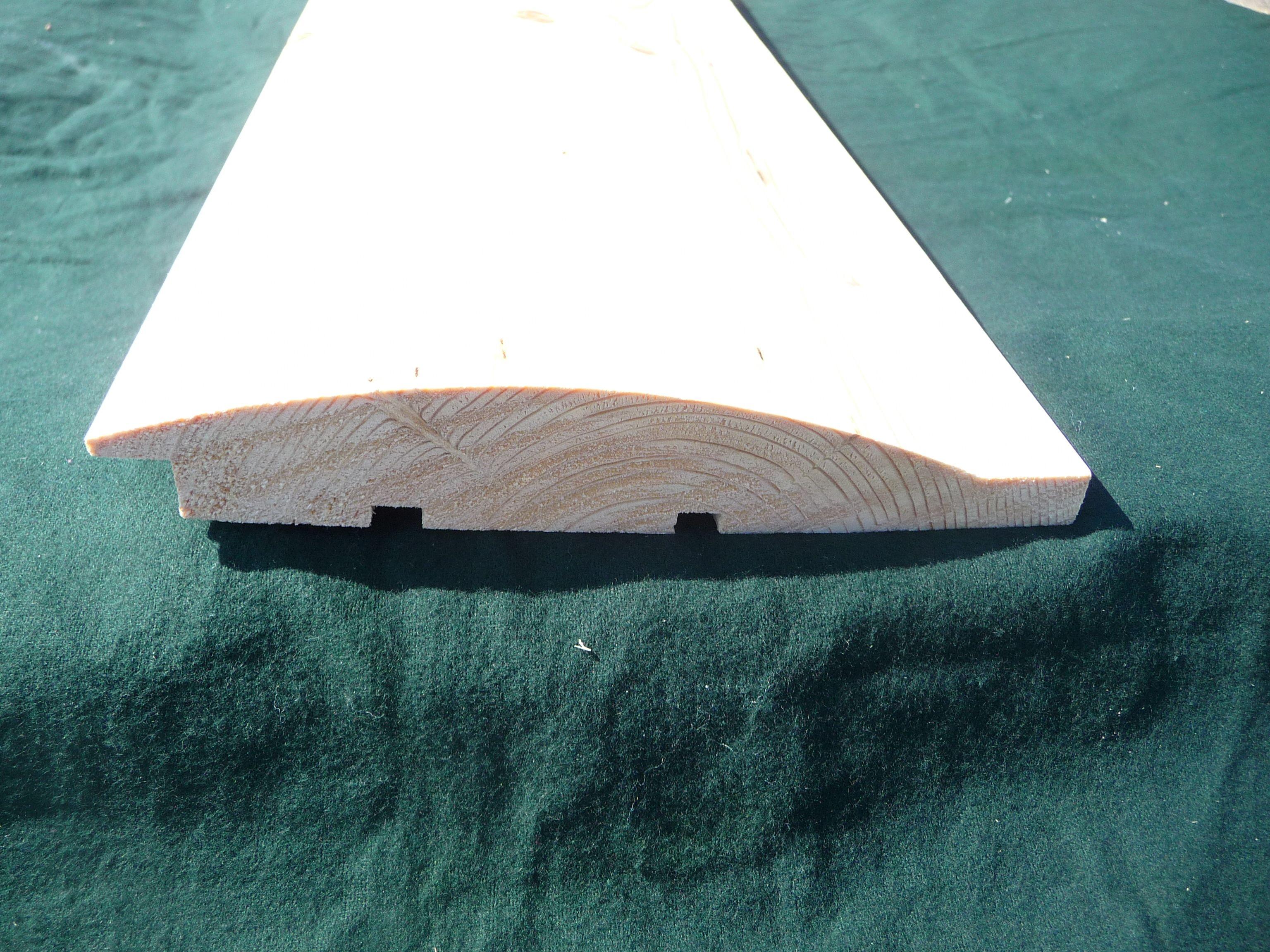 3x8 log siding hand hewn pine - 3x8 Log Siding Hand Hewn Pine 54
