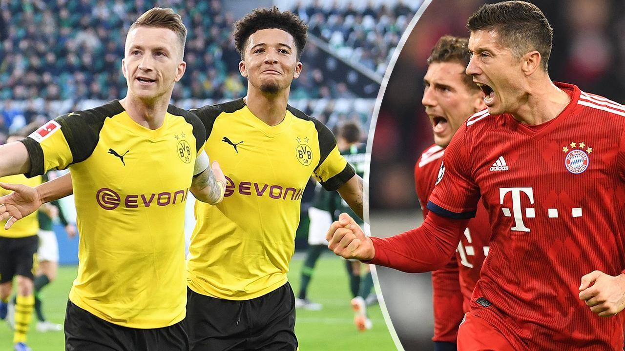 Bvb Gegen Bayern Bild Vergleich Der Superstars Reus Besser Als Lewy Bvb Bayern Bayern Bilder Bayern