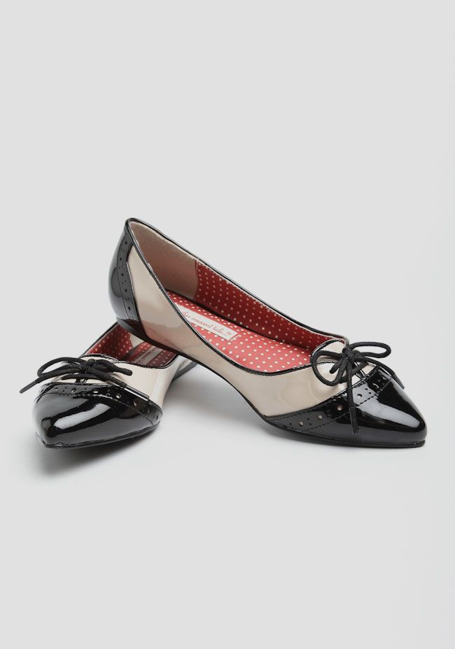 Gloria Pointed-Toe Flats B.A.I.T. Footwear | Modern Vintage New Arrivals