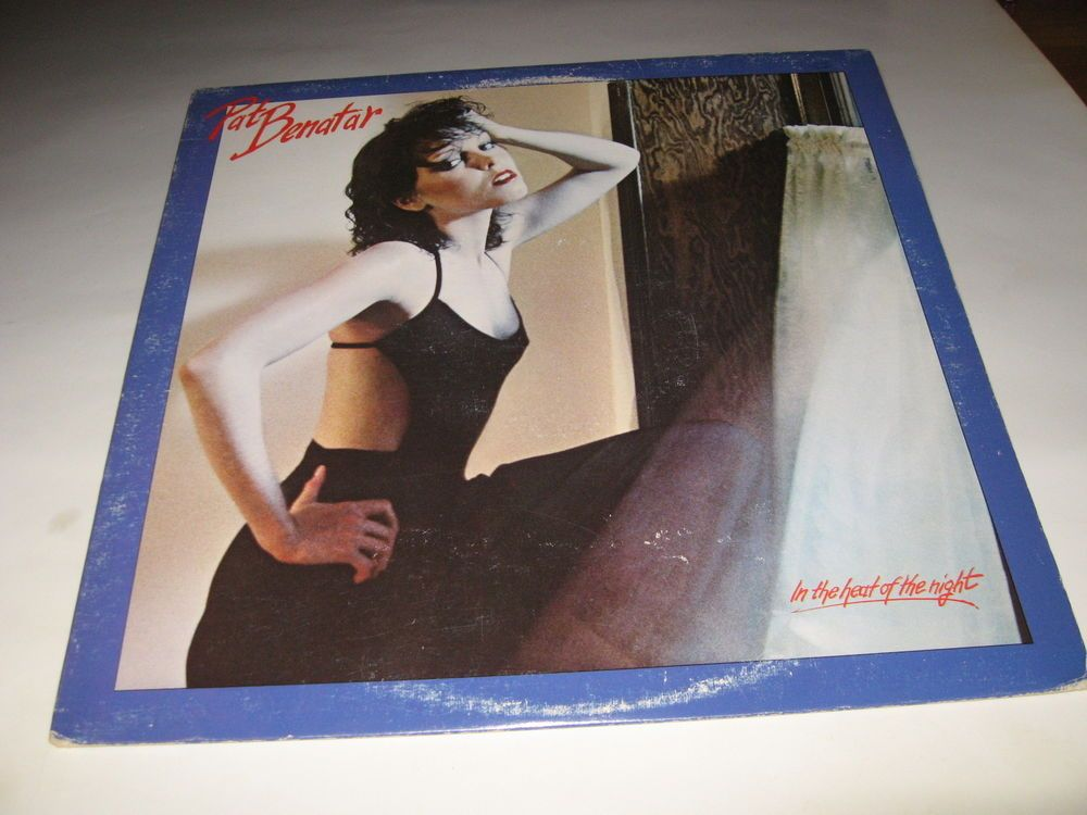 Pat Benatar - In The Heat Of The Night 1979 LP Vinyl near mint