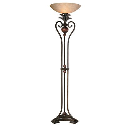 Uttermost Andra Torchiere Floor Lamp Living Room Pinterest