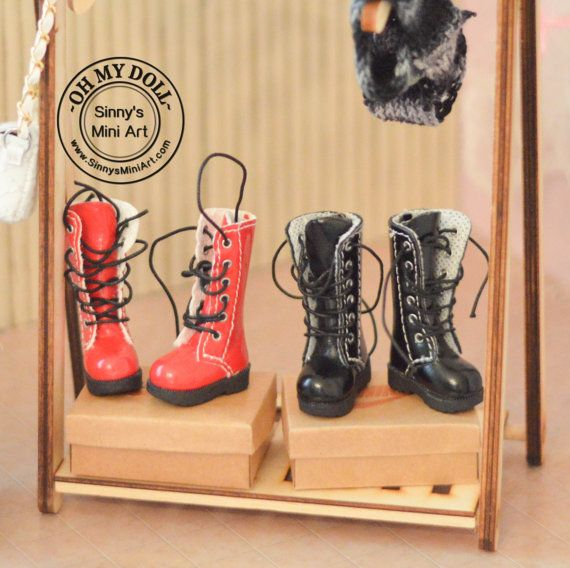 Boots for Blythe/ Boots for Barbie/ Doll Boots/ Pullips Boots