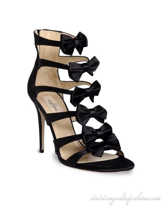 Valentino bowed sandal