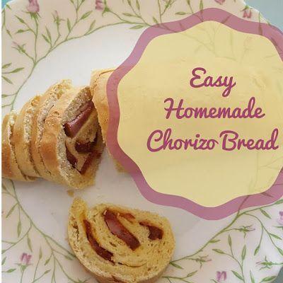 Keeping it Real: Easy Homemade Chorizo Bread: