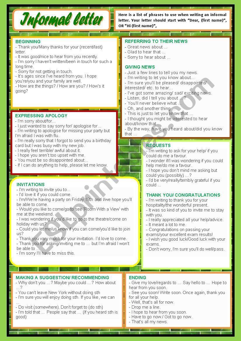Buy informal essay