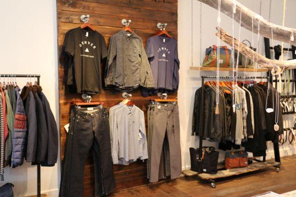 Top Shops To Buy Raw Denim In Denver Colorado Tiger Clothing Raw Denim Clothing Displays