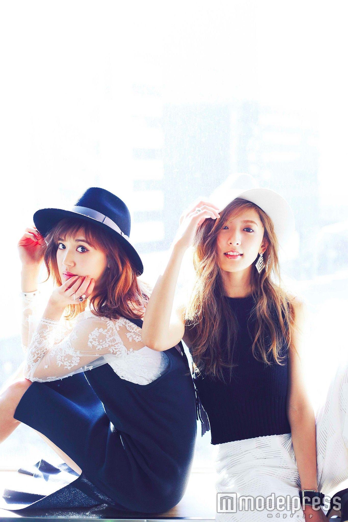 画像1 5 E Girls藤井姉妹 正反対の魅力 を堪能 美容からプライベート