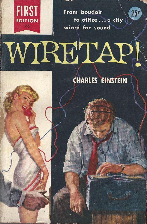 Wiretap   Pulp   Pinterest   Pulp fiction and Illustrators