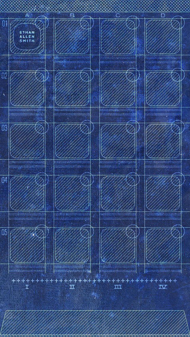 I Updated My Blueprint Wallpaper For The Iphone 5 Live