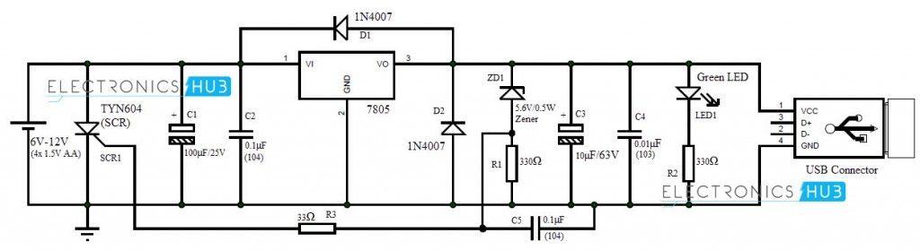 how to make portable battery charger elektronik pinterest rh pinterest com