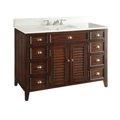 One Allium Way Annabella 47 Single Bathroom Vanity Set Base