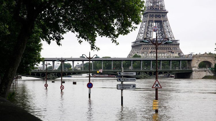 Worst Europe flooding in 35 years - June 2016