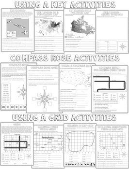 map skills maps map skills social studies teaching map skills. Black Bedroom Furniture Sets. Home Design Ideas