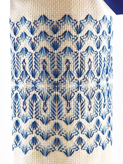 Learn Swedish Weaving Huck Embroidery Embroidery Pinte