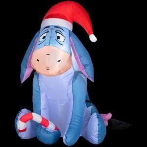 Eeyore inflatable Christmas decorations