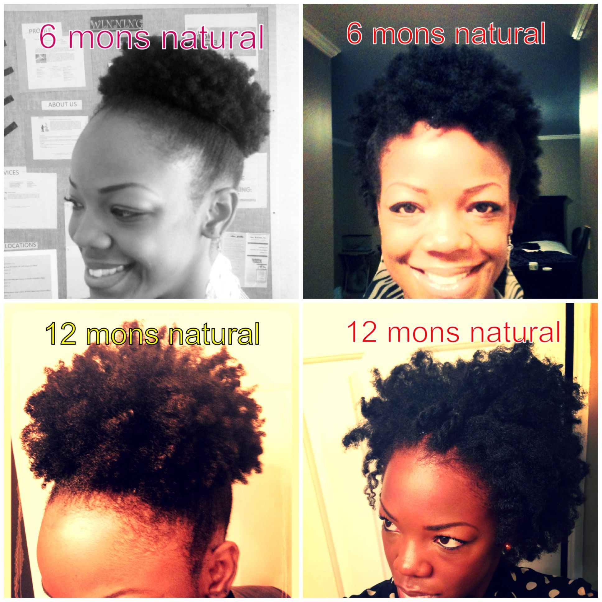 6 Months Of Hair Growth Naturalhair Teamnatural Kinksconfessions Kinks Hairgrowth Hair Journey Natural Hair Styles Beautiful Natural Hair