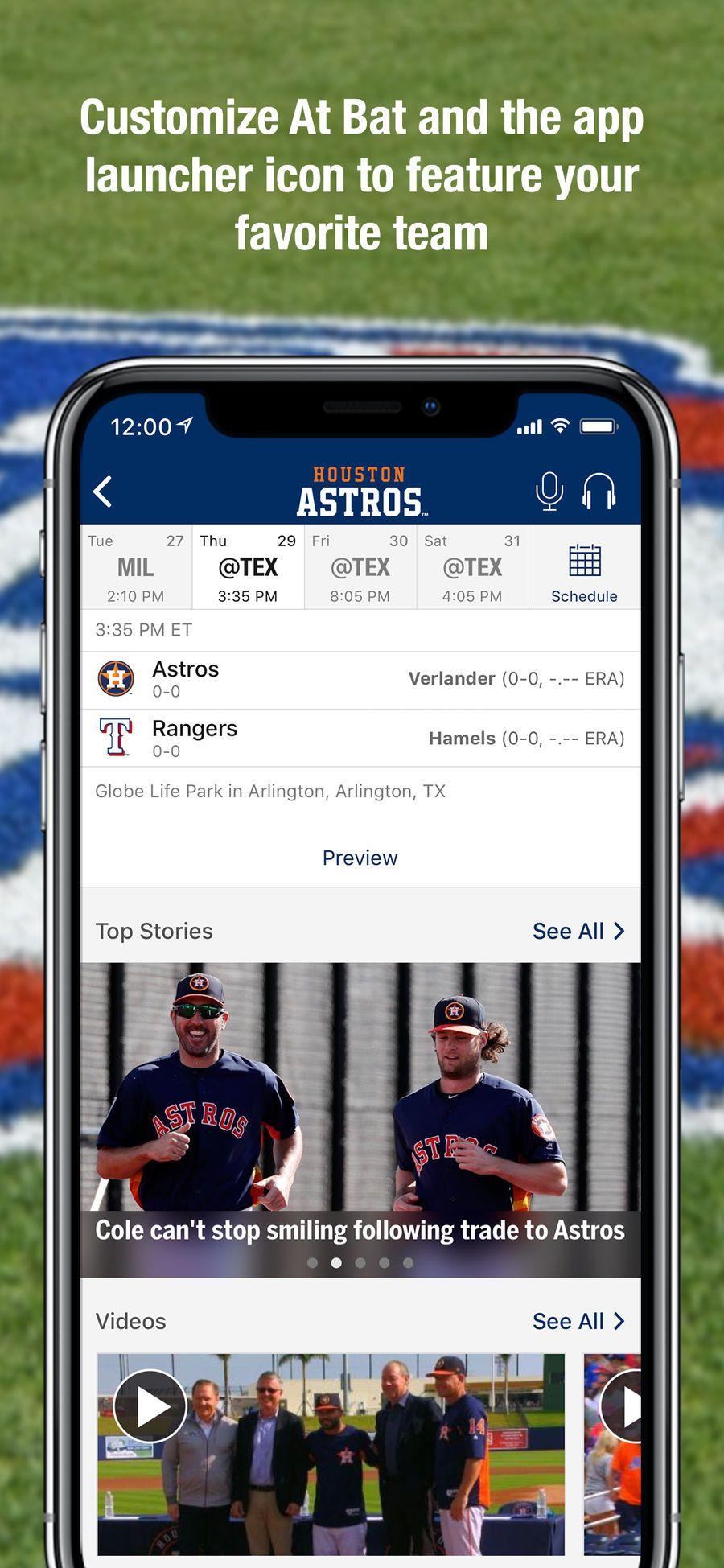 Mlb At Bat Ios Apps App Entertainment Mlb Favorite Team App
