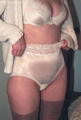 Mature big panties
