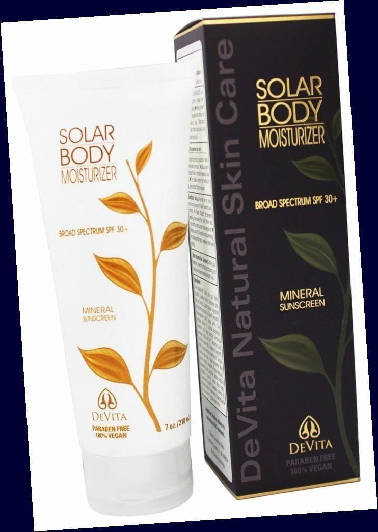 Solar Protective Moisturizer Spf 30 Moisturizer Mineral Sunscreen Natural Skin Care