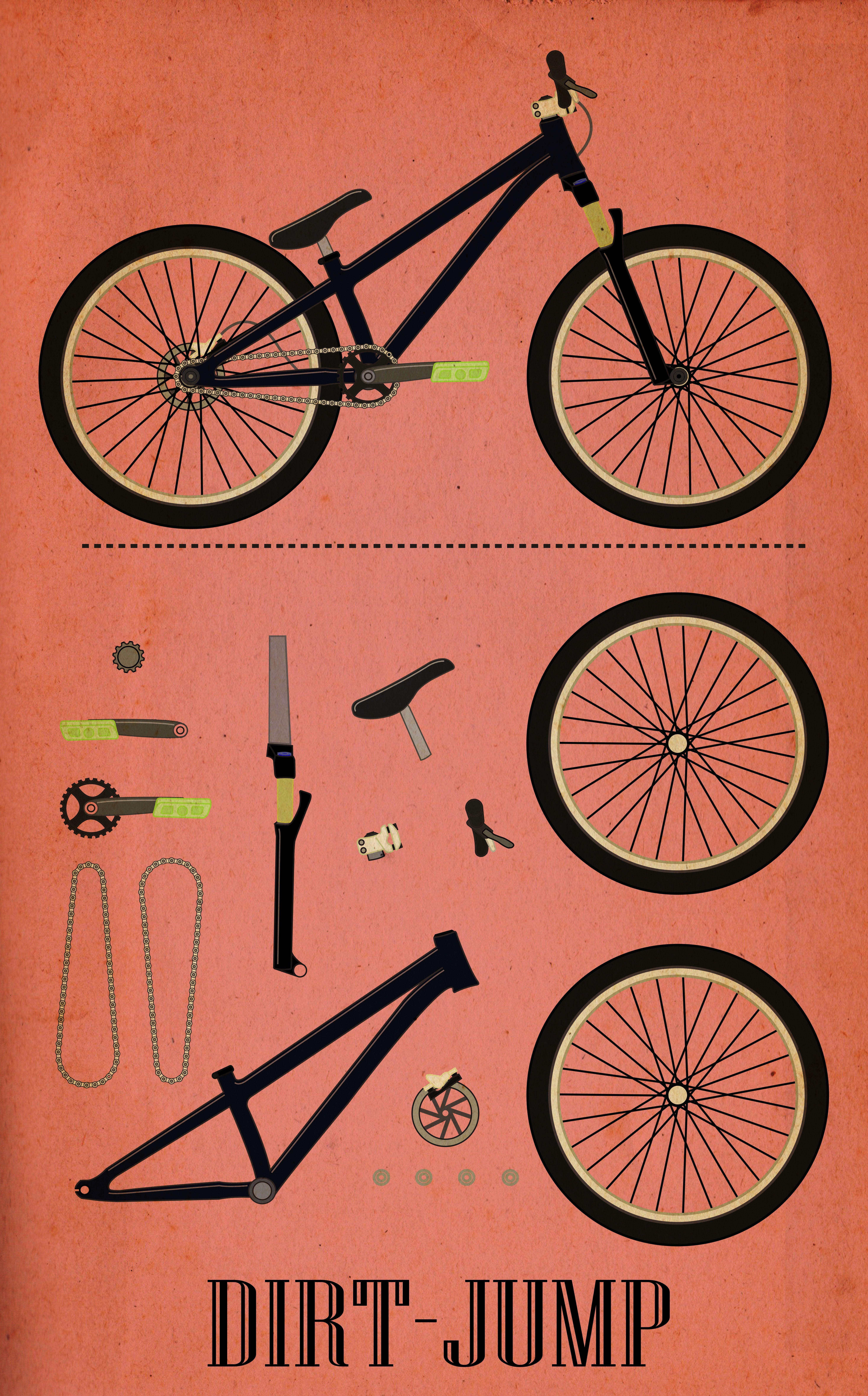 Dirt-Jump   Mountain bikes   Pinterest   Bicicleta y MTB