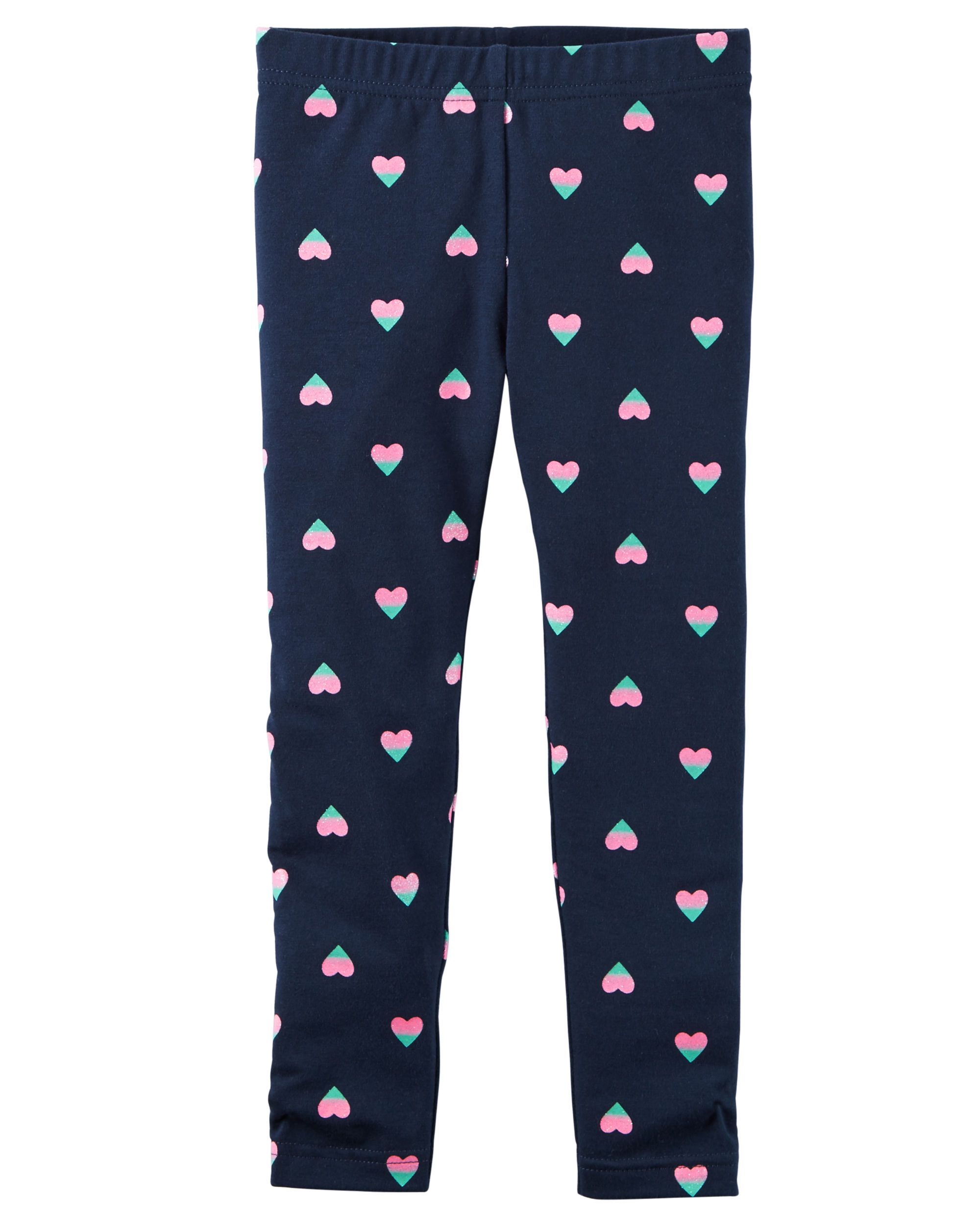 245327e79d5c05 Kid Girl Heart Print Leggings from Carters.com. Shop clothing & accessories  from a trusted name in kids, toddlers, and baby clothes.
