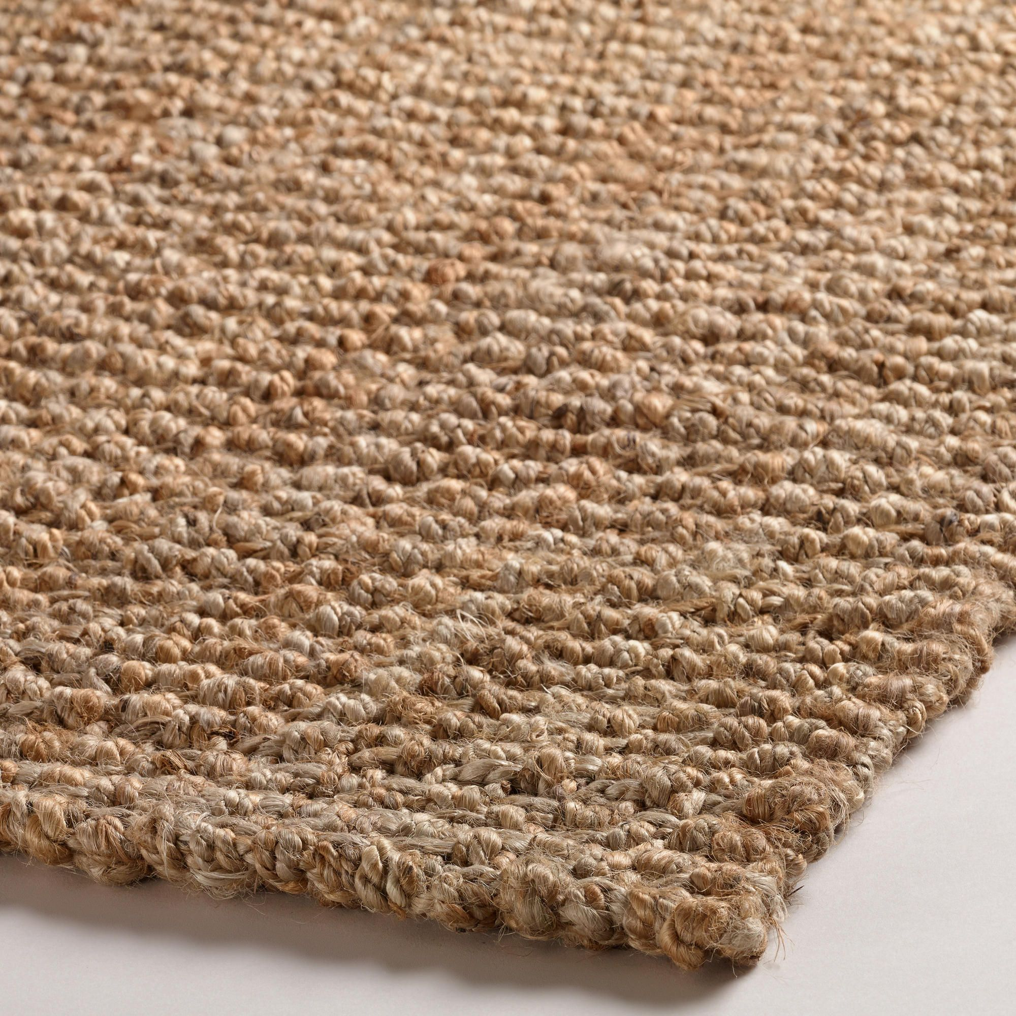 Basket Weave Jute Rug World Market Dining Room Jute