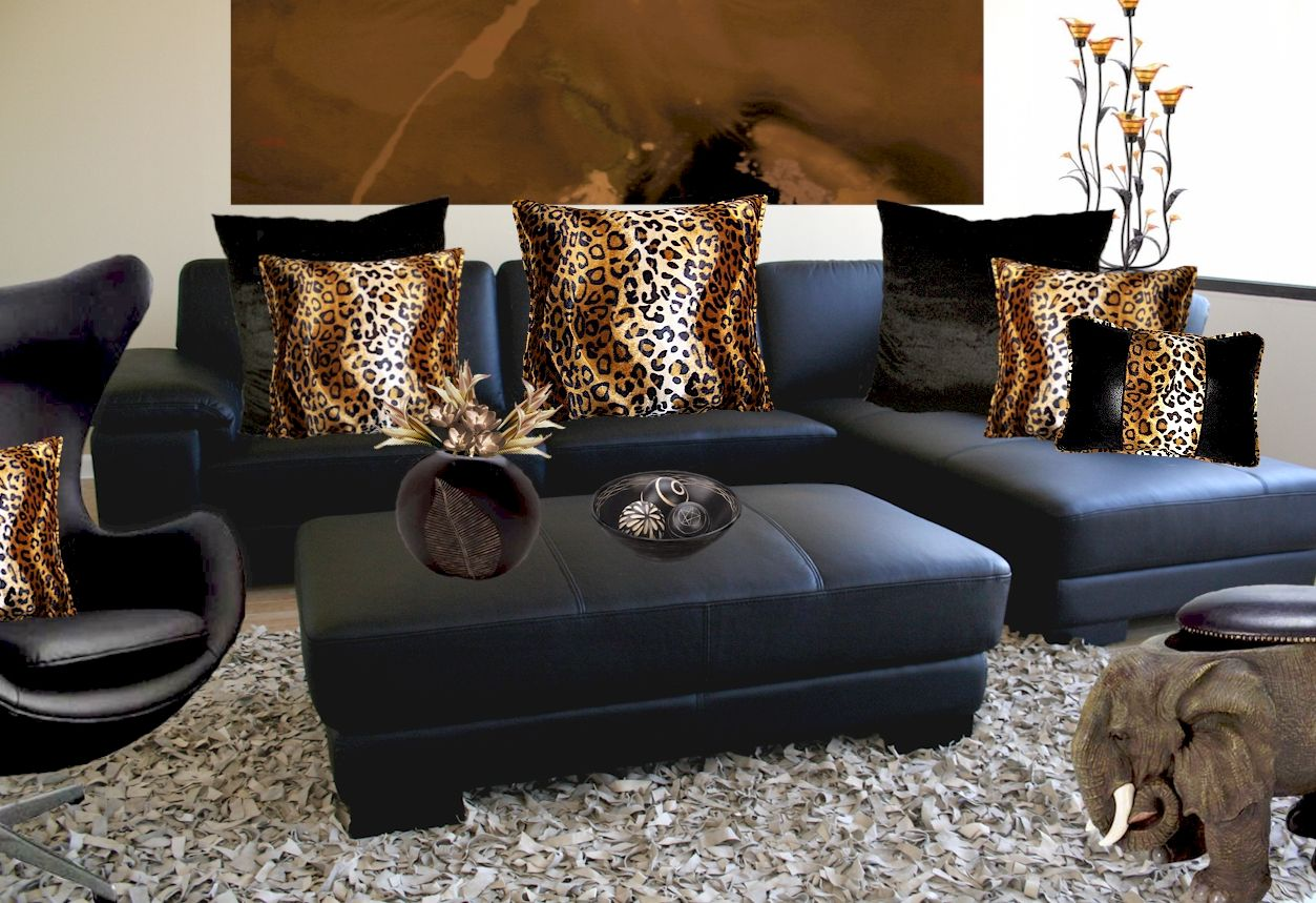 How to Paint a Leopard Room Decor - http://www.searchbanter.com/wp ...