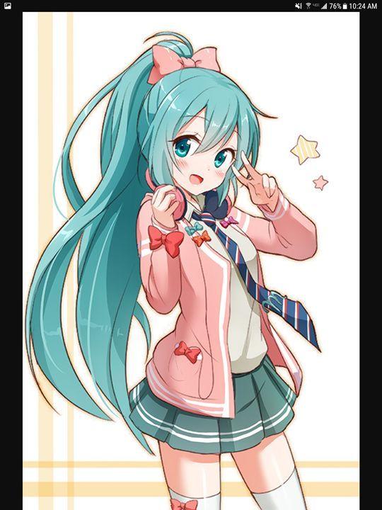 Hatsune Miku - Olivia's Cartoon drawings and greeting cards