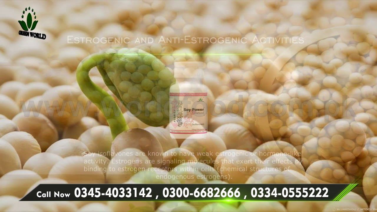 Soy Power Capsules In Pakistan Worldfood Soy Power Capsule In