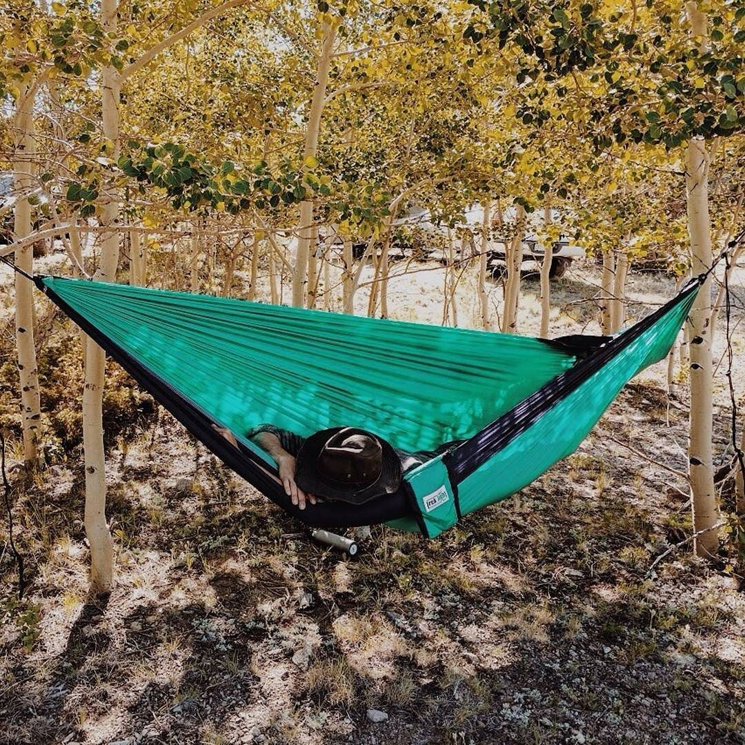 Sundays are better in a hammock heathmarie treklightgear