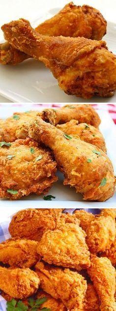 Como Hacer El Mejor Pollo Frito Receta Secreta De Kfc Food Yummy Food Recipes