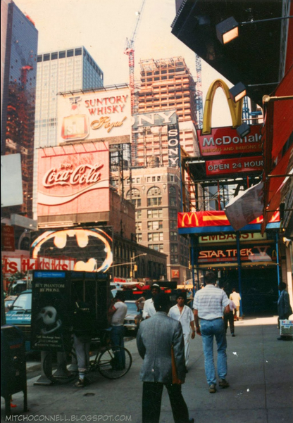 Photos: Revisit The Seedy Times Square Of The Late '80s ...
