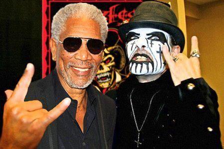 Morgan Freeman King Diamond King Diamond Morgan Freeman Freeman