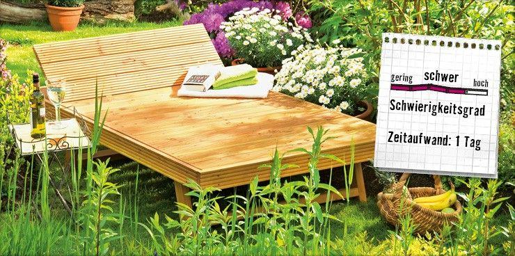 Xxl Liege Gartenliege Selber Bauen Gartenliege Und Gartendesign