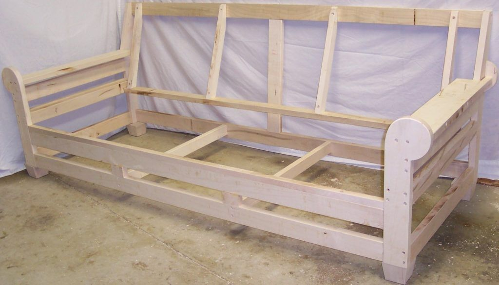 Sofa Frame Designs Plans Diy Free Download How To Build Corner Pertaining To Sofa Frame Plans Sofa Frame Sofa Bed Wood Wood Sofa
