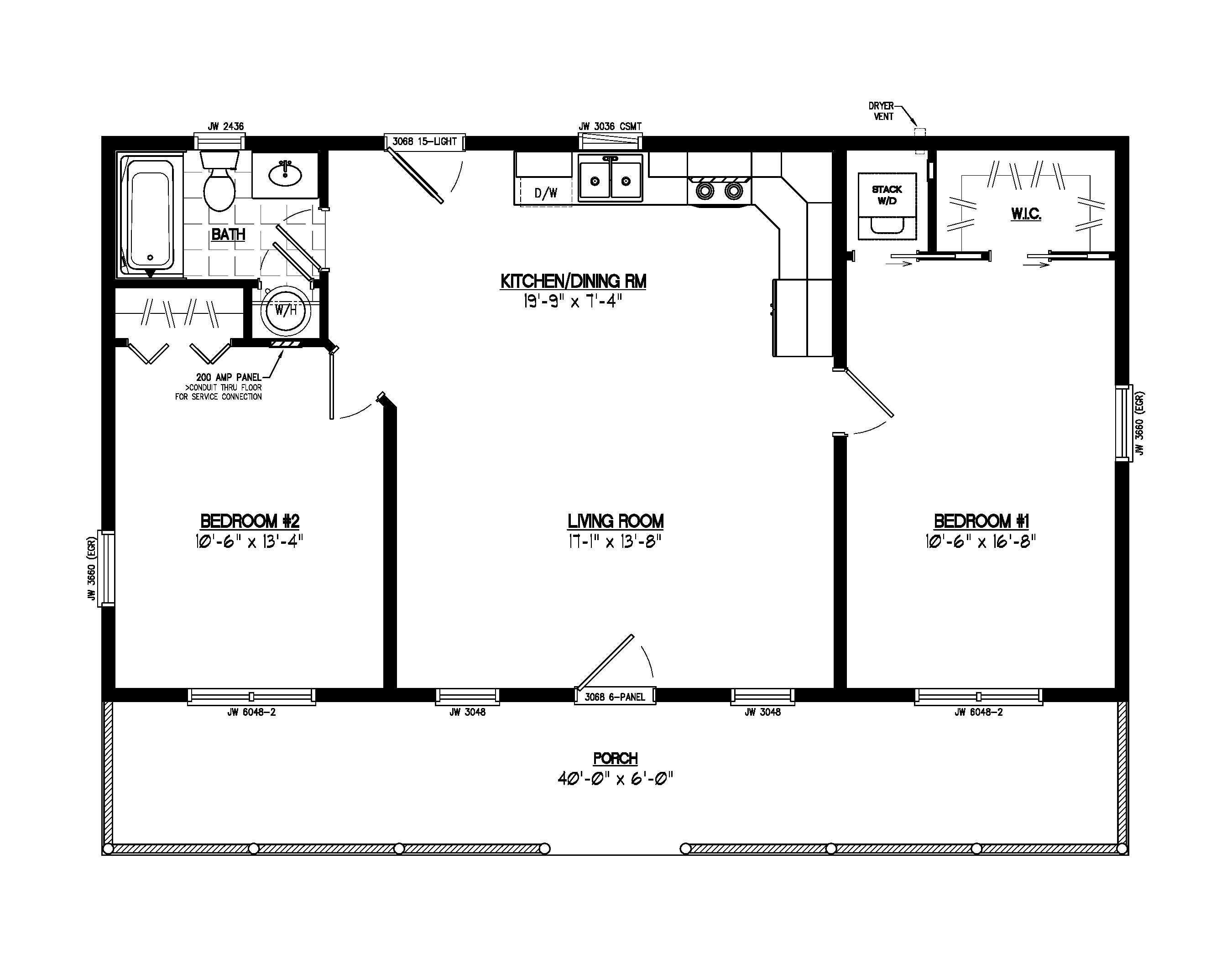 A Single Story Log Cabin With Full Endearing Enchanting 24 X 32 Floor Plans Cabin Floor Plans Log Cabin Floor Plans Cabin Floor