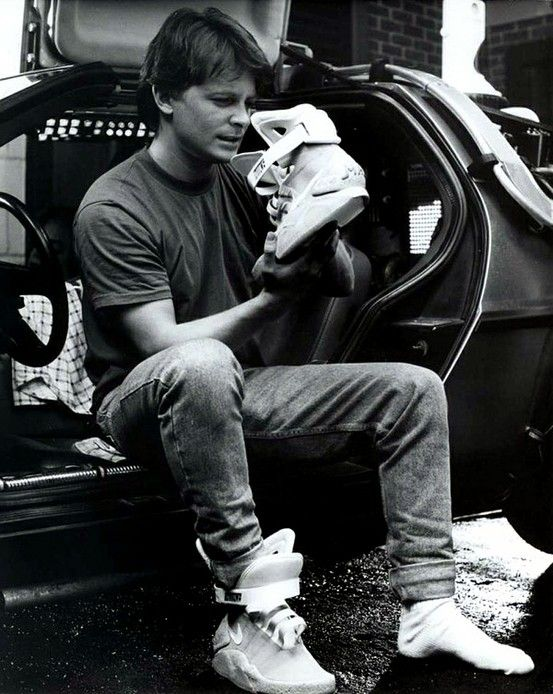 Nike Teases Self Tying Sneakers On Back To The Future Day