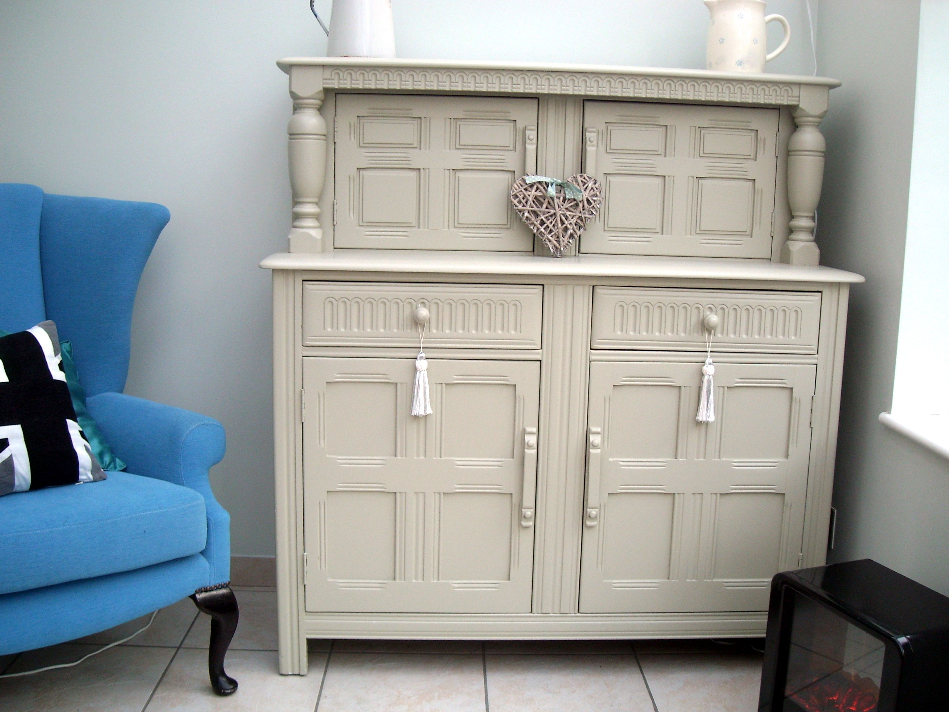 Old dresser I painted with Farrow and