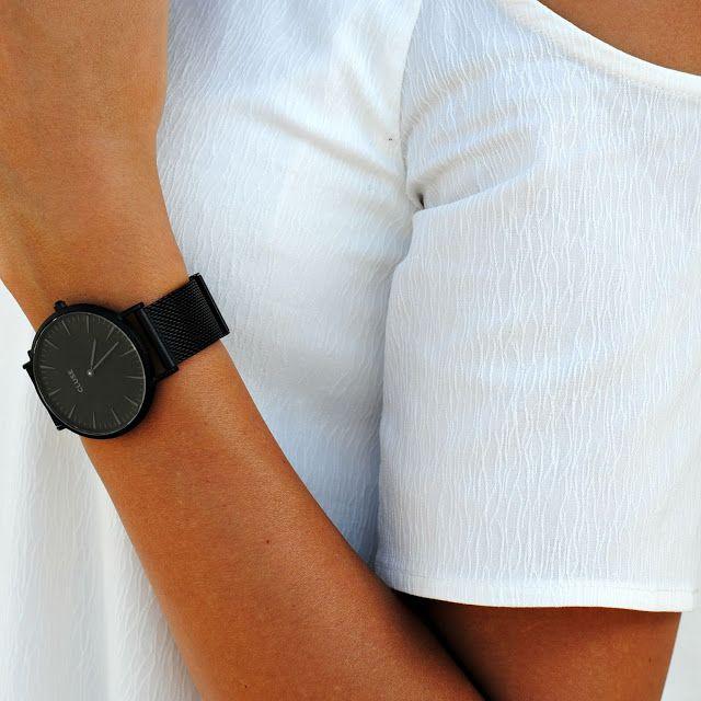 @sonjaganzprivat #CLUSE #watch #monochrome #style #fashion