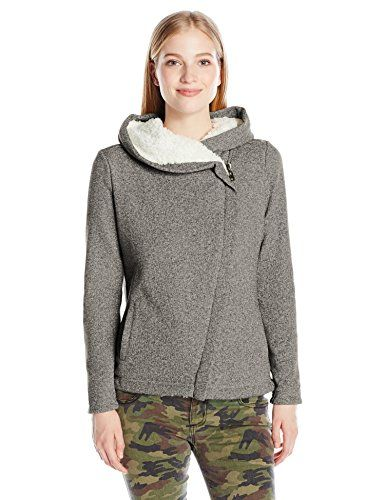 6c096a7e6513 Women s Quilted Lightweight Jackets - ONeill Womens Crestline Sherpa Lined  Zip up Hoodie   Read more at the image link.