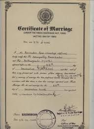 Image Result For Gurudwara Marriage Certificate  Pomy