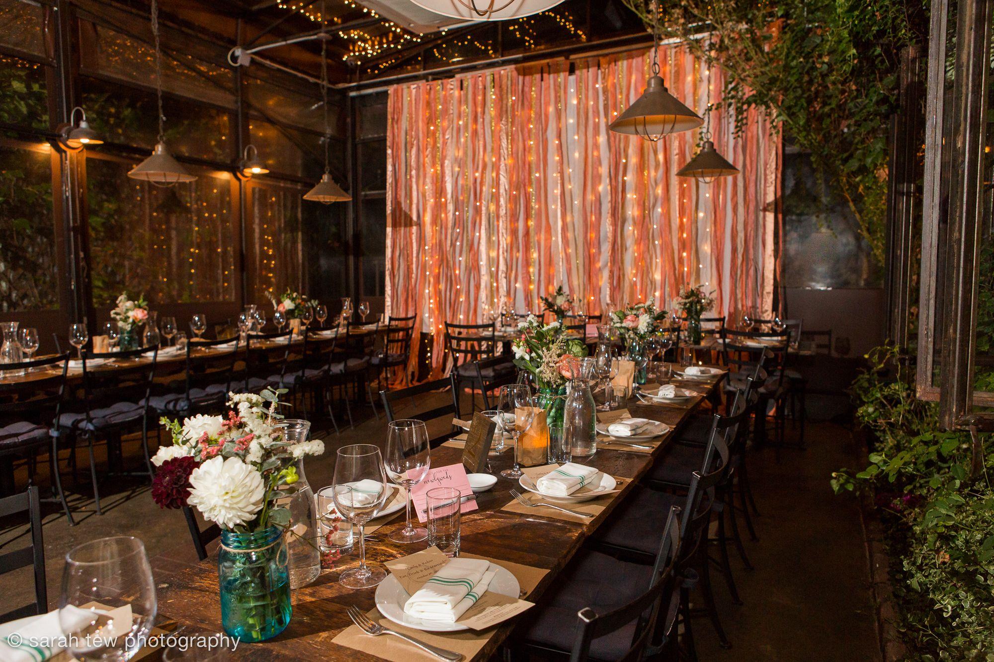 Same Wedding At Aurora In Williamsburg Brooklyn Sarah Tew Photography Shown Here