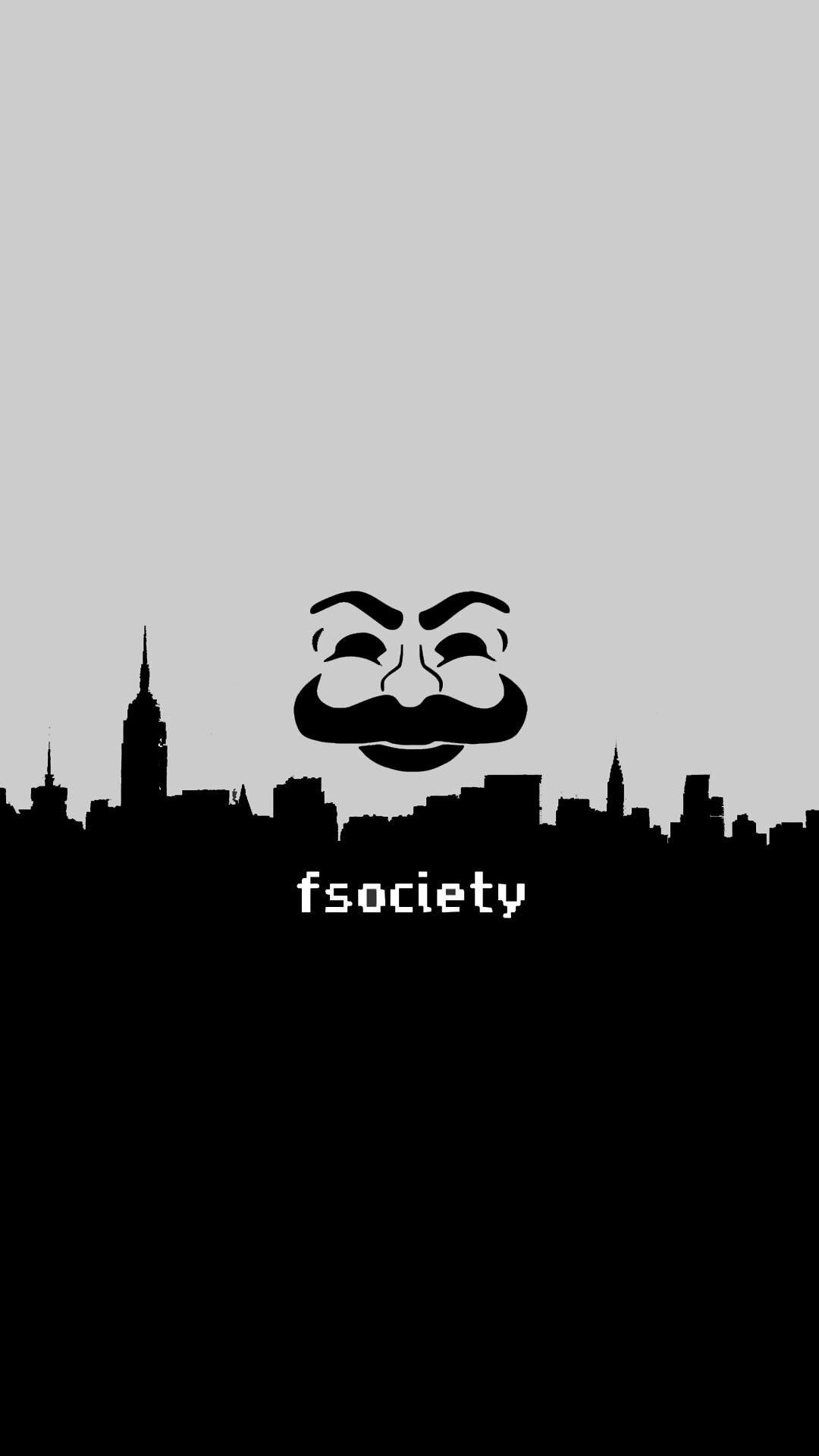 F Society Amoled Wallpaper 1080x1920 In 2019 Robot