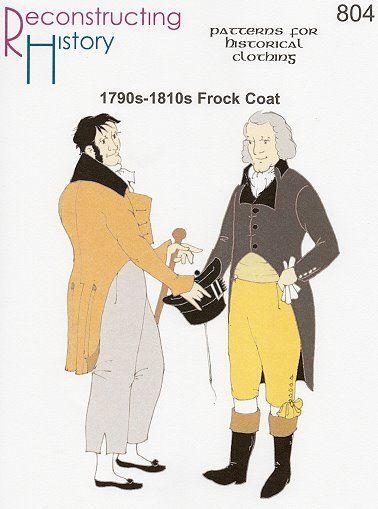 Schnittmuster: 1790 bis 1820 - Mantelrock | Nähen | Pinterest ...